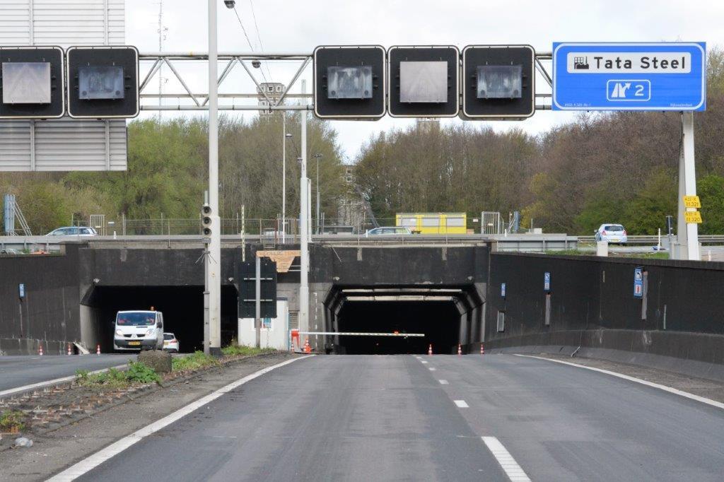 Velsertunnel (A22) twee nachten dicht