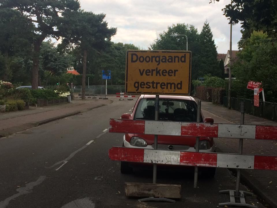 afsluiting Driehuis