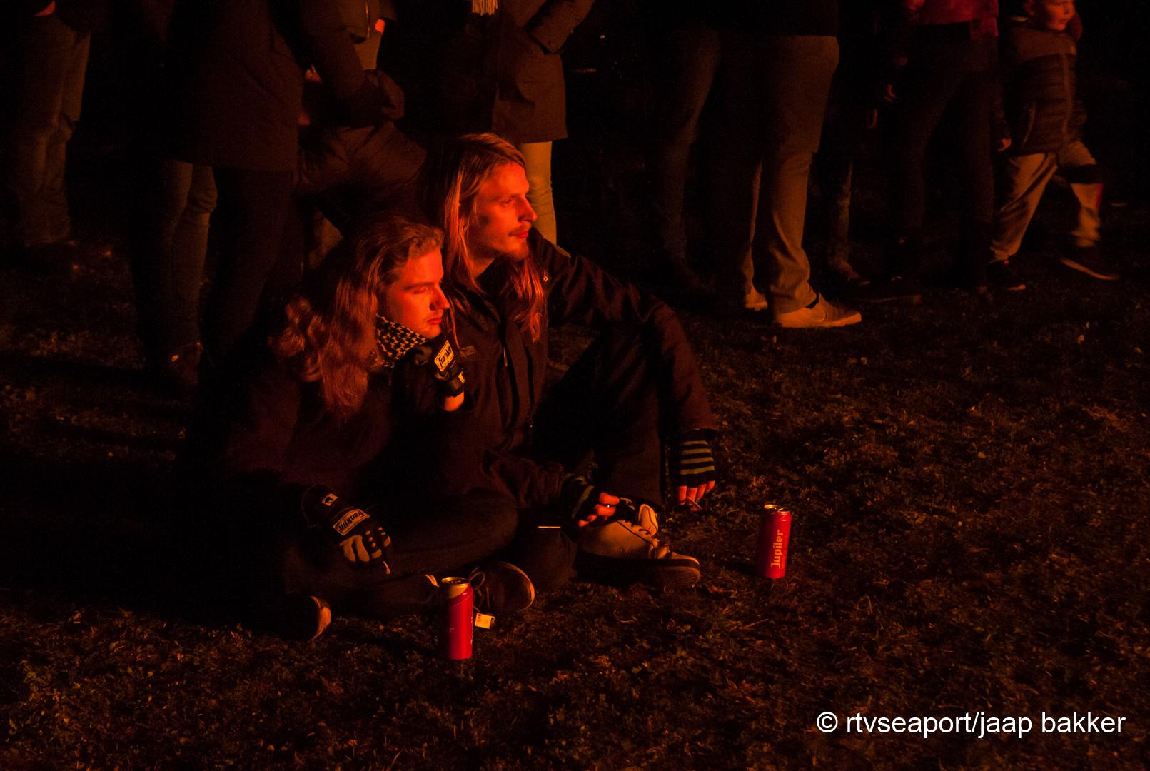 Kerstboomverbranding Velsen (2)
