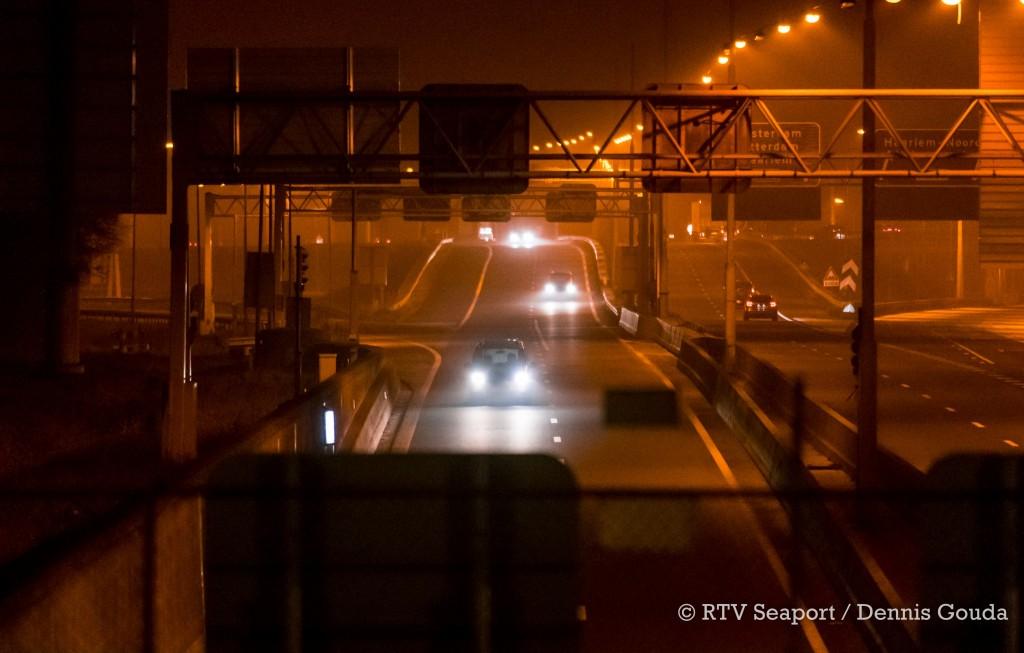 Verkeerschaos door storing Velsertunnel