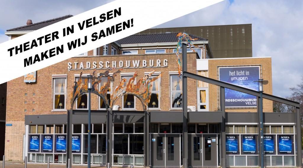 Stadsschouwburg Velsen luidt noodklok